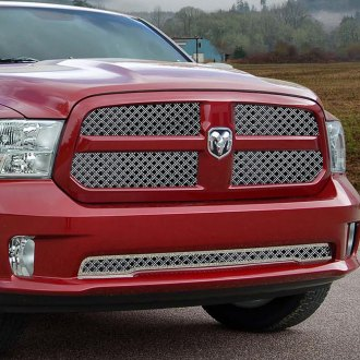 E&G Classics® - 3-Pc Diamond Chrome Dual Weave Mesh Grille