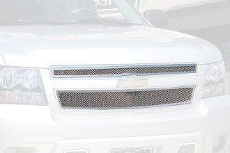 E&G Classics® - 2-Pc Chrome Plated Fine Mesh Main Grille