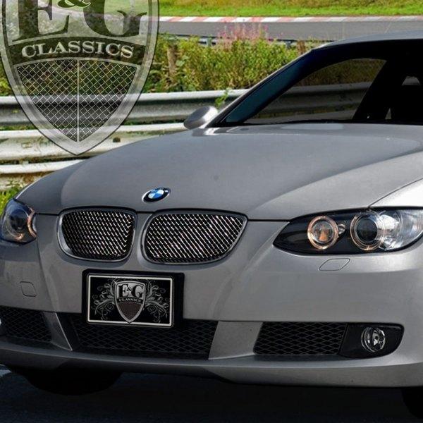 BMW 3-Series 2007 Black Ice Fine Mesh Grille