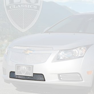 E&G Classics® - 1-Pc Chrome Super Fine Mesh Bumper Grille