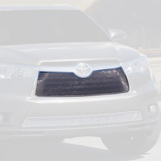 E&G Classics® - 1-Pc Chrome Fine Mesh Main Grille