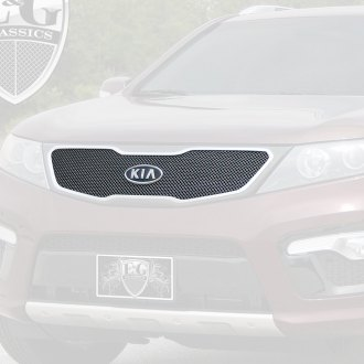 E&G Classics® - 1-Pc Black Ice Fine Mesh Main Grille