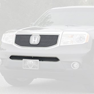 E&G Classics® - Black Ice Fine Mesh Main and Bumper Grille Kit