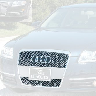 E&G Classics® - 1-Pc Chrome Heavy Metal Mesh Main Grille