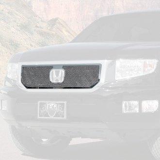 Honda Ridgeline Custom Grilles Billet Mesh Cnc Led Chrome Black