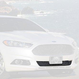Ford Fusion Custom Grilles | Billet, Mesh, CNC, LED, Chrome, Black