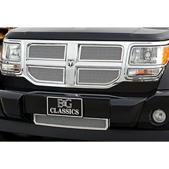 E&G Classics® - 5-Pc Chrome Fine Mesh Grille