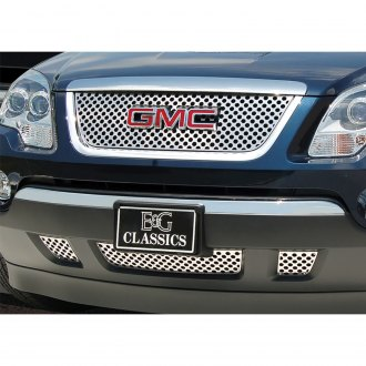 "E&G Classics® - 4-Pc Denali ""Z"" Style Polished Round Punch CNC Machined Grille"
