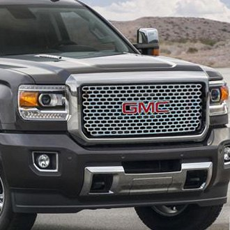 "E&G Classics® - 1-Pc Denali ""Z"" Style Chrome CNC Machined Main Grille"