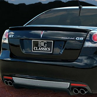 E&G Classics® - 1-Pc Polished Fine Mesh Rear Bumper Grille
