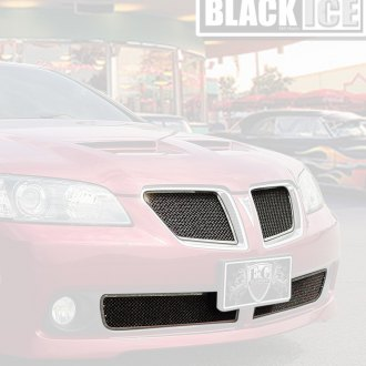E&G Classics® - 5-Pc Black Ice Fine Mesh Grille Kit