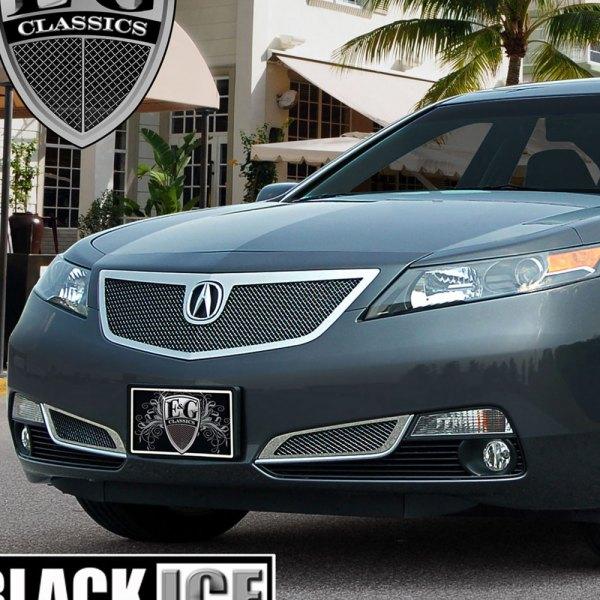 Acura TL 2012-2014 Black Ice Fine Mesh Grille