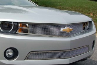 E&G Classics® - 2-Pc Chrome Plated Fine Mesh Main and Bumper Grille Kit