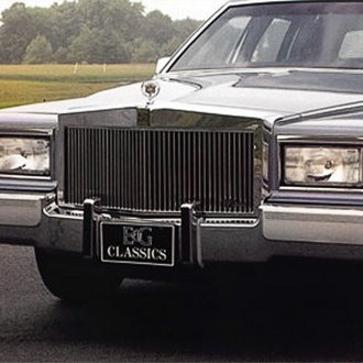 E&G Classics® - 1-Pc Classic Series High Profile Silver Vertical Billet Main Grille