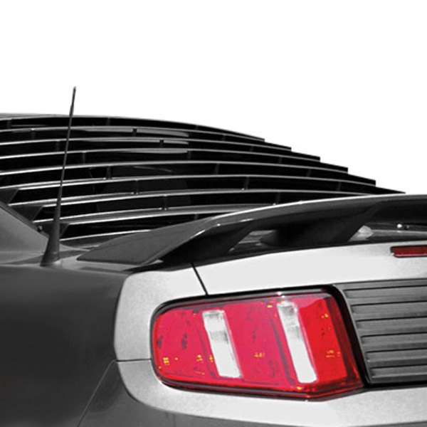 E&G Classics® - EGX Black Rear Window Louvers