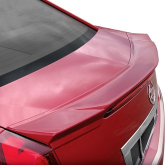 E&G CLASSICS® - Version II Rear Deck Lid Spoiler - Crystal Red