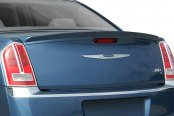E&G Classics® - EGX Rear Deck Spoiler - Bright Silver Metallic