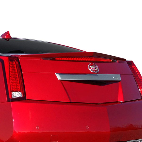 e g classics cadillac cts 2011 2015 rear deck lid spoiler. Black Bedroom Furniture Sets. Home Design Ideas