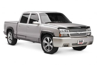 EGR® 791524 - Bolt-On Style Black Front and Rear Fender Flares