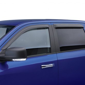 EGR® - Tape-On Dark Smoke Front and Rear Window Visors