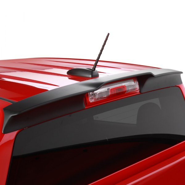 Image may not reflect your exact vehicle! EGR® - Matte Black Truck Cab Spoiler