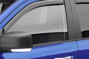 Image may not reflect your exact vehicle! EGR® - Front and Rear In-Channel Window Visors