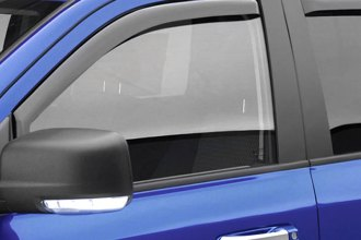 EGR® - Front and Rear In-Channel Light Smoke Window Visors