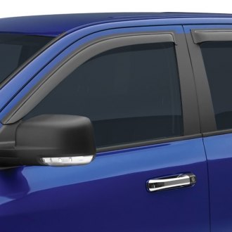 Image may not reflect your exact vehicle! EGR® - Front and Rear Tape-On Window Visors