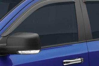 EGR® - Front and Rear Tape-On Smoke Window Visors