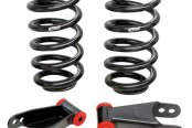 Eibach® - Pro-Truck Front and Rear Lowering Kit