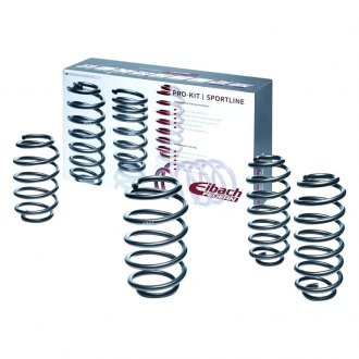 "Eibach® - 0.6"" x 0.6"" Pro-Kit Front and Rear Lowering Coil Springs"