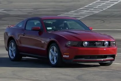 Eibach® Pro Plus Kit on Ford Mustang 2011 Comparison