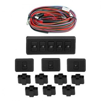 Electric-Life® - 7 Switch Rocker Style Illuminated Kit