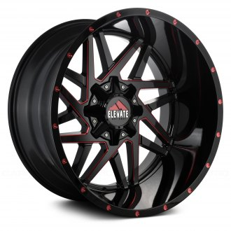 ELEVATE® - ELV8.1 Black with Red Accents