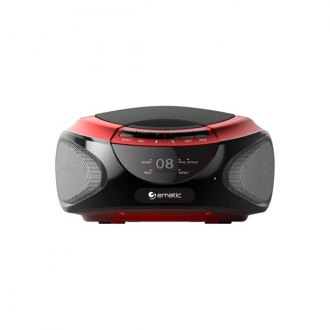 Ematic® - CD Boombox With Bluetooth Audio & Speakerphone EBB9224