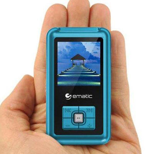 ematic em208vid 8gb mp3 video player rh carid com Ematic MP3 Player Touch Ematic MP3 Player Instructions