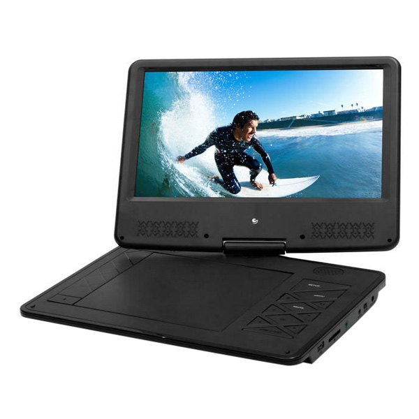 IeGeek inch Portable DVD Player with Swivel Screen -