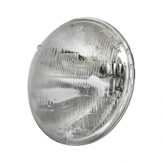 "EMPI® - 7"" Round Chrome Factory Style Sealed Beam Headlight"