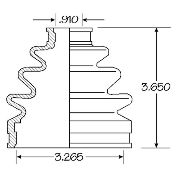 EMPI® - CV Joint Boot Kit