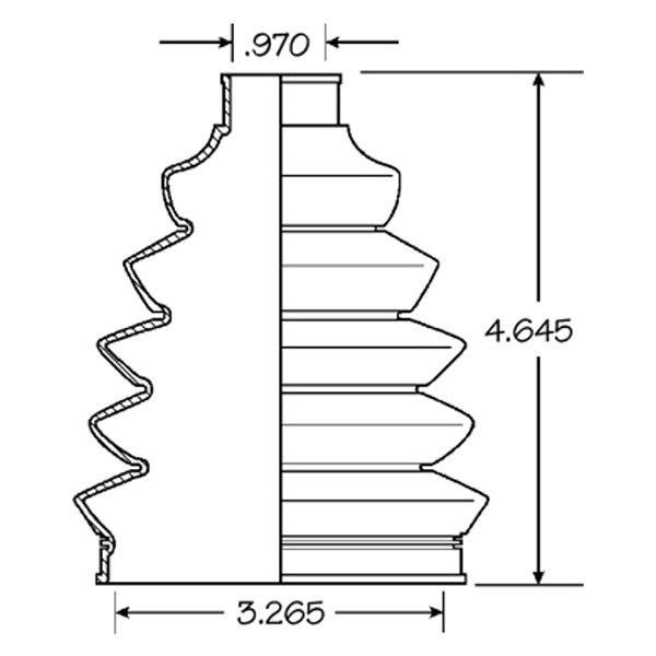 Empi 86-2375-D CV Joint Boot