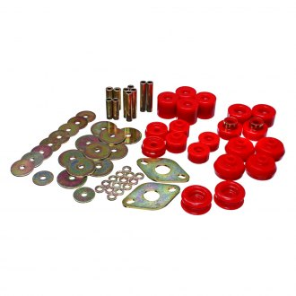 "Energy Suspension® - 0"" Front and Rear Body Mount Bushing Set"