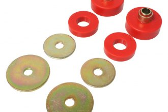 "Energy Suspension® - 0"" Front and Rear Firm Bushings Style Body Mount Kit"