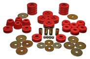Energy Suspension® 3.4105R - Body Cab Mount Set (Red)