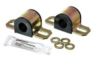 "Energy Suspension® 9.5124G - Non-Greasable Sway Bar Bushing Set (From 2.0625"" to 2.875"" Bracket Size, 0.7874"" ID, Black)"