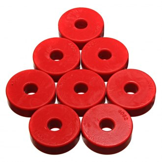 "Energy Suspension® - 0"" Front and Rear Body Mount Bushings"