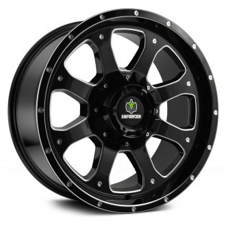 ENFORCER® - EF300 Gloss Black with Milled Accents
