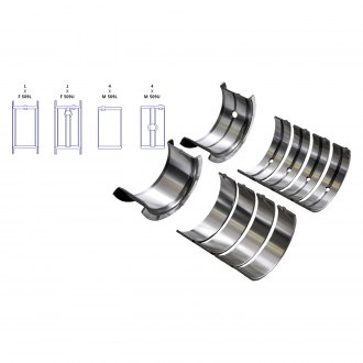 Enginetech® - Main Bearing Set