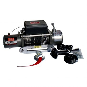 ENGO® - E9000S 9,000 lb. Electric Winch with Synthetic Rope