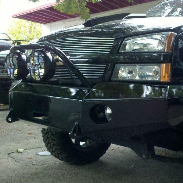 Engo Full Width Front Hd Black Bumper