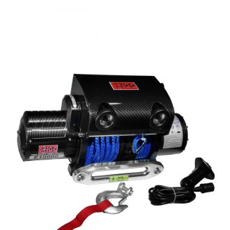 ENGO® - LT10000 10,000 lb. 12 Volt Electric Winch with LED Lights